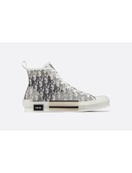 Sneaker Haute B23 Tissu Technique Dior Oblique by Dior