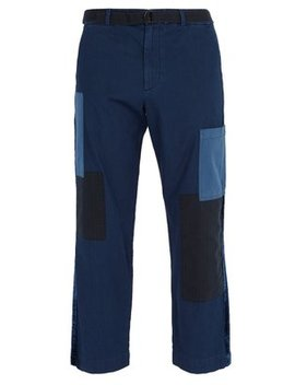 Mid Rise Cropped Cotton Trousers by Barena Venezia