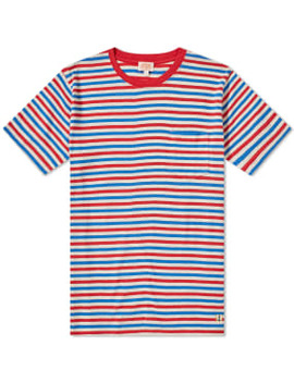 Armor Lux 76023 Stripe Pocket Tee by End.