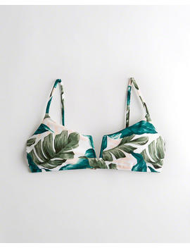 Notch Front Scoop Bikini Top by Hollister