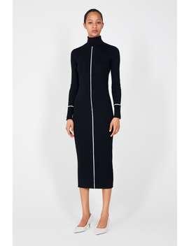 Sukienka Z PrĄŻkowanej Dzianiny  Najnowszekobieta New Collection by Zara