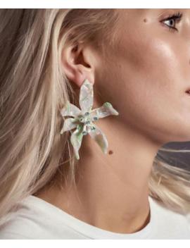 Lele Sadoughi Water Lily Earrings by Lele Sadoughi