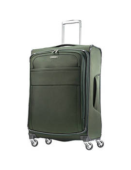 "Eco Glide 25"" Expandable Checked Spinner Luggage by Samsonite"