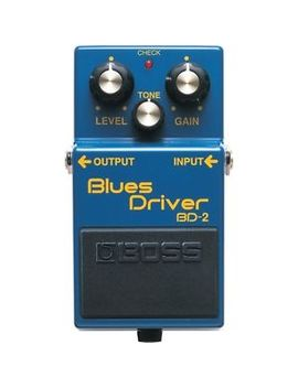 Boss Bd 2 Blues Driver Guitar Effects Pedal by Boss