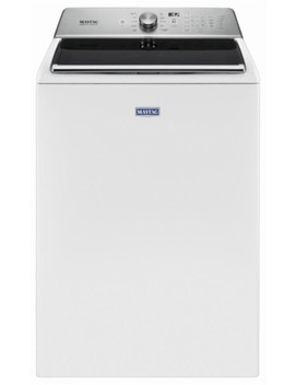 5.2 Cu. Ft. 11 Cycle Top Loading Washer   White by Maytag