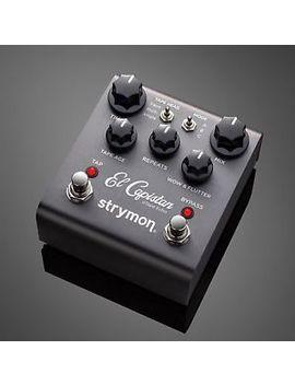 Strymon El Capistan Tape Echo Effects Pedal   Brand New. Authorized Dealer! by Strymon