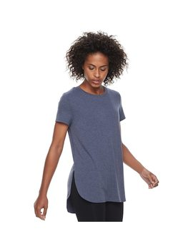 Women's Tek Gear® High Slit Tunic Tee by Tek Gear
