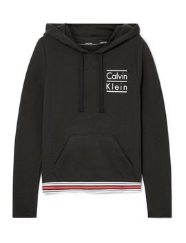 Bedruckter Hoodie Aus Einer Baumwollmischung by Calvin Klein Underwear