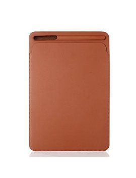 Pinhen Sleeve Per I Pad Pro 10.5 Custodia Con Pencil Holder   Pro 10,5 Case Con Portamatite Per Apple I Pad Pro 10.5 Pollici 2017 Modello (10.5, Brown) by Pinhen