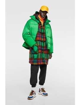 Oversize Puffer Jacket  Puffers Jackets Man Sale by Zara