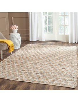 Safavieh Cape Cod Handmade Grey / Natural Jute Natural Fiber Rug by Safavieh