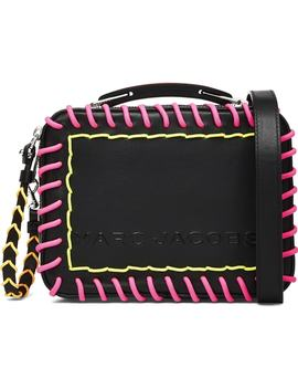 The Box 20 Whipstitch Leather Handbag by Marc Jacobs