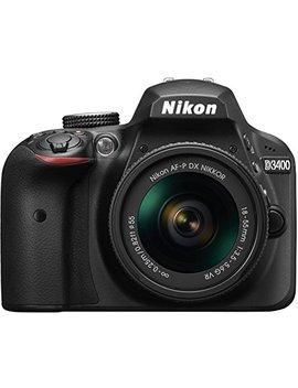 Nikon D3400 W/ Af P Dx Nikkor 18 55mm F/3.5 5.6 G Vr Dslr Camera by Nikon