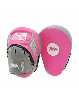 Lonsdale New Pink Jab Curved Pads Ideal Workouts   Pink by Lonsdale