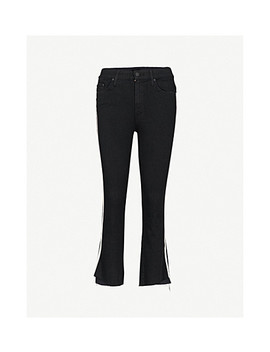 The Insider Crop Step Slim Fit Skinny High Rise Jeans by Mother