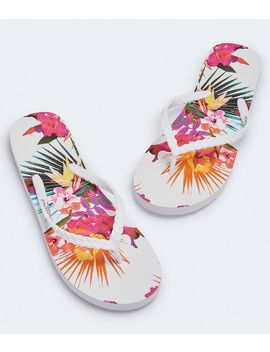 Tropical Braided Flip Flop by Aeropostale