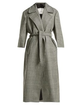 Linda Prince Of Wales Check Coat by Giuliva Heritage Collection