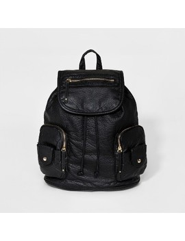 Under One Sky Washed Backpack   Black by Under One Sky