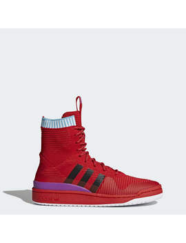 Forum Primeknit Winter Shoes by Adidas