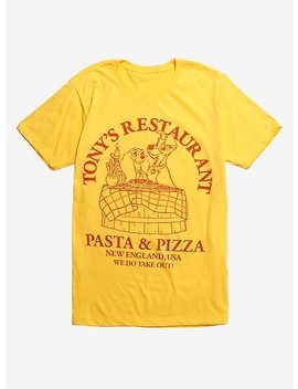 Disney Lady And The Tramp Tony's Restaurant T Shirt by Hot Topic