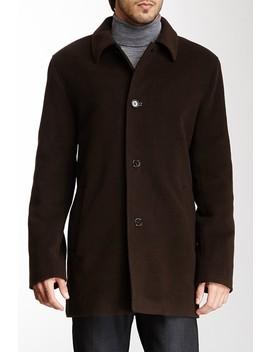 Italian Wool Blend Overcoat by Cole Haan