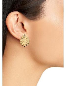 Kate Spade A New Leaf Stud Earrings by Kate Spade New York