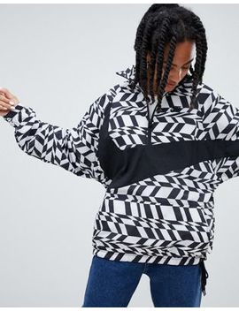 Nike Vaporwave Printed Half Zip Jacket by Nike