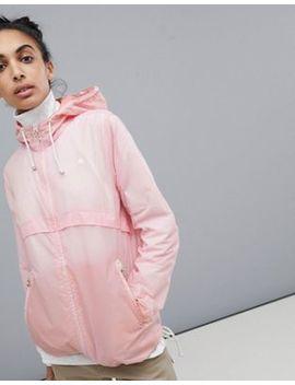 Burton Snowboards Hazlett Packable Rain Jacket In Pink by Burton Snowboards