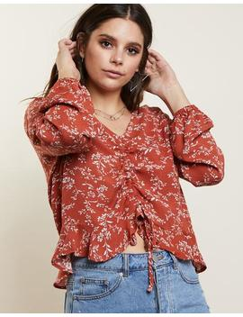 Spring Bloom Flora Top by 2020 Ave