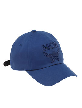 Men's Logo Embossed Collection Baseball Cap by Mcm