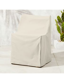 Breton Waterproof Dining Chair Cover by Crate&Barrel