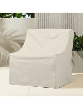 Breton Waterproof Chair Cover by Crate&Barrel