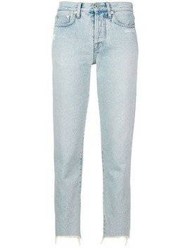 Cropped Tapered Jeans by Off White