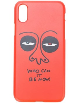 Who Can It Be Now I Phone 7/8 Case by Haculla