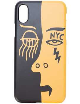 2 Faced I Phone 7/8 Case by Haculla