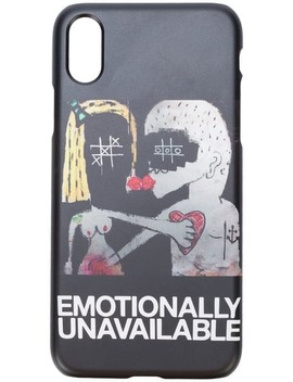 Emotionally Unavailable I Phone 7/8 Case by Haculla