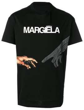 Hands Print T Shirt by Maison Margiela