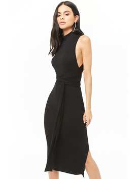 Ribbed Open Back Maxi Dress by Forever 21
