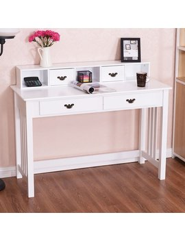 Grovelane Teen Amanda Mission Writing Desk With Hutch by Grovelane Teen