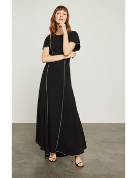 Cape Sleeve Gown by Bcbgmaxazria