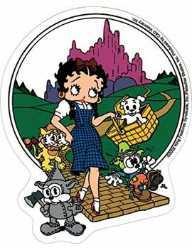 Betty Boop Wizard Of Oz With Puppies Sticker/Decal by Betty Boop