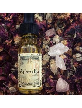 Aphrodite Goddess Magical Love Blessing Essential Oil Elixir by Etsy