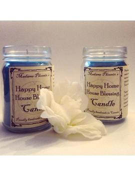 Magic House Blessing Spell Candle by Etsy