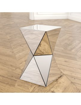 Willa Arlo Interiors Conrad Mirrored Accent End Table & Reviews by Willa Arlo Interiors