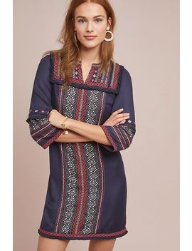 Alto Embroidered Tunic Dress by Akemi + Kin