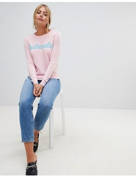 Qed London Wednesday Week Day Jumper by Jumper