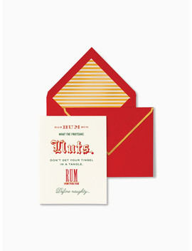Bah Humbug Holiday Card Set by Kate Spade