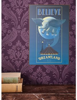 Disney Dumbo Believe Wood Wall Art by Hot Topic