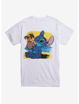 Disney Lilo & Stitch Coconut Beach T Shirt by Hot Topic