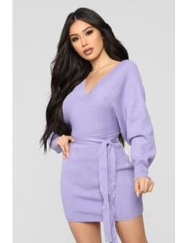 Hangin' With The Girls   Lavender by Fashion Nova
